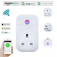 WiFi Smart UK Plug Wireless Timer Socket Alexa App Remote Control Switches Home