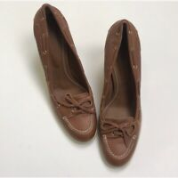 Bally Balmoral Leather Pumps Size 40