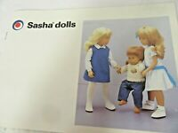 Small Catalog  #27  issue January  1985 of Dolls And Clothes Printed England