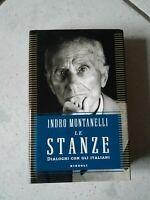 """VENDO LIBRO """"LE STANZE-DIALOGHI CON GLI ITALIANI"""" - MONTANELLI - RIZZOLI EDITORE"""