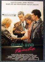 Second Hand Family - Glenn Close & James Woods - A1 Film Poster Poster (Y-8490 +