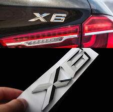 E692 X6 Emblème autocollants voiture badge Car Emblem auto chrome