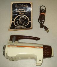 ~~Vintage Sunbeam Mixmaster --Mixer Replacement Part-- head unit/motor ~~WORKS~~