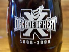 MIAMI HEAT DECADE OF HEAT 1988 - 1998, 1 - 8 Oz Coke Bottle