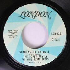 Pop 45 The Poppy Family Featuring Susan Jacks - Shadows On My Wall / That'S Wher
