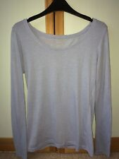 Blue plain women long t-shirt