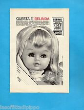 TOP970-PUBBLICITA'/ADVERTISING-1970- SEBINO - BAMBOLA BELINDA