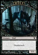 ▼▲▼ Jeton Loup 6/12 (Token Wolf 6/12) Innistrad #270 FRENCH Magic