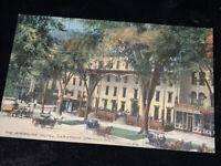 The American Hotel , Saratoga Springs NY, c1907, Unused Postcard
