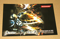 Apocalyptica very rare promo PostCard  Post Card Konami
