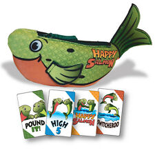 Green Happy Salmon High-Fivin' Fin-Flappin' Card Game North Star Games NSG 600