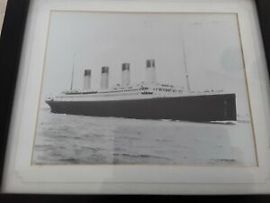 PICTURE OF TITANIC signed by Milvena Dean