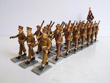 FUSILIER MINIATURES X25 NORWAY RIFLES 1946 PARADE MARCHING LOOSE (BS2010)