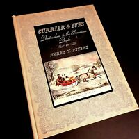 Currier and Ives Printmakers to the American People Harry Peters 1942 Hardcover