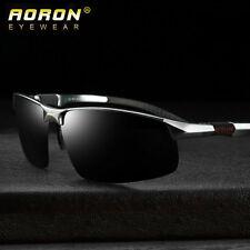 Herren HD Sonnenbrille Polarisiert Pilot Aluminium Brillen UV 400 Pilotenbrille