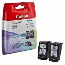 Canon PG-510 & CL-511 Value Pack de cartuchos de tinta para impresoras Canon PIXMA! nuevo!