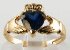 Heart 9 Carat Yellow Gold Fine Rings