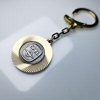 Original 1956 Schlüsselanhänger OPEL Lüfterrad Anhänger Metall Diamantschliff