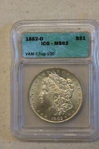 1882 O Vam 7  MORGAN DOLLAR Higher grade