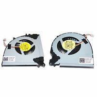 New CPU Cooling Fan Left+Right For Dell Inspiron 15 5577 5576 0RJX6N 04X5CY X3H0