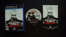 Tom Clancy's SPLINTER CELL DOUBLE AGENT : JEU Sony PLAYSTATION 2 PS2 (complet)