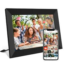 10.1'' Digital Picture Frame WiFi Share Photo Video HD Touch Screen with APP