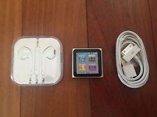 Apple iPod nano 6th Generation Graphite (16GB) NEW