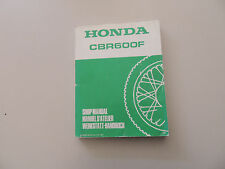Werkstatthandbuch Honda CBR 600 F PC19/23 ab 1987 Reparaturanleitung shop manual