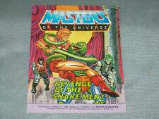 MOTU... MASTERS OF THE UNIVERSE, REVENGE OF THE SNAKE MEN.. He-Man, Comic