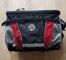 Bike Handlebar Insulated Cooler Bag With Rain Cover and Carrying Strap