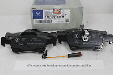 Genuine Mercedes-Benz W211 E-Class REAR Brake Pads and Sensor A0074201020 NEW!