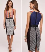 NEW Byron Lars Gramercy Sheath Pencil Dress Size 12