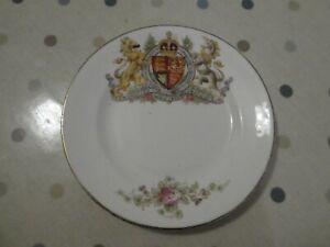 Small plate commemorating Coronation of Edward V11