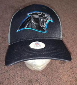 NFL Carolina Panthers Men's Baseball Cap Hat Black Licensed NFL Product