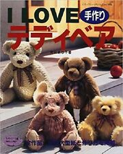 Teddy Bear Craft Book 02 - I Love Japanese Craft Pattern Book All Style Family