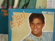 MIGUEL BOSÉ mas alla bravi ragazzi 3 LP Sammlung Vinyl