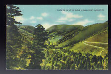 NEW MEXICO NM  Cloudcroft Tope of the World Linen 1949 postcard