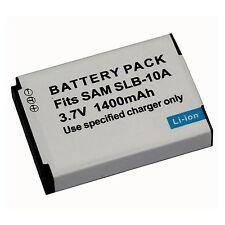 Samsung Camera Battery SLB-10A SLB10A For TL240 WB600 WB650 L100
