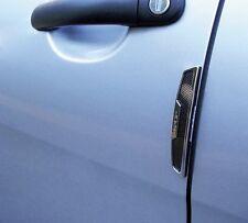 SUMEX 3M Autoadesivo Automobile Porta Scratch Guardie di protezione-nero look carbonio