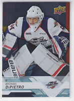 2018-19 Upper Deck CHL Silver Michael DiPietro #12 Vancouver Canucks