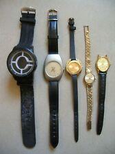 Lot d'anciennes montres mécaniques et à quartz Bulgari Slava