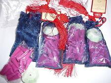 Incense Passage to Asia Incense Organza Bag - 4 bags per set Rose Purple