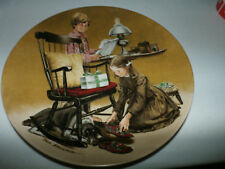 Norman Rockwell Father's Day Fine China Knowles Collector Plate 1982