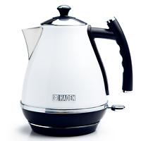 Haden Cotswold White Electric Jug Kettle 1.7L Cordless, Removeable Filter, 3000W