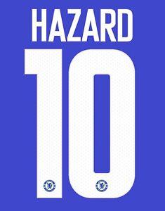 Hazard 10 2018-2019 Home CFC Football Nameset for shirt