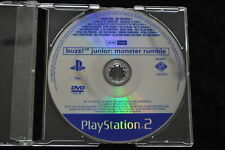 Buzz Junior Monster Rumble Promo Playstation 2 PS2