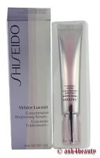 Shiseido White Lucent Concentrated Brightening Serum 1.0oz/30ml Nib