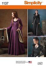Patron de couture Moyen âge et Goth; Gr. 40-48