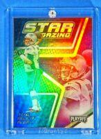 Star Gazing Tom Brady Patriots Spectacular Holofoil Rainbow Color Burst TB12 MVP