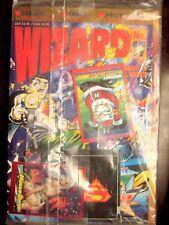 WIZARD MAGAZINE 17 Jan 1993 SEALED! Santa Todd, Death Superman, Holly Daye Cards